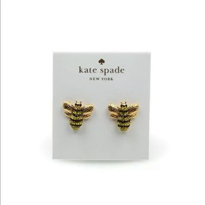 NWT Kate Spade Bee Earrings